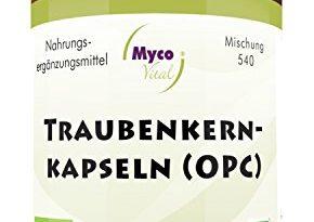 OPC Kapseln   93 Kapseln OPC hochdosiert   Bio Acerola Pulver, Sanddorn & Weißdorn verstärken die Wirkung   KEIN OPC Traubenkernextrakt Kapseln