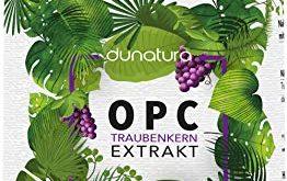 dunatura OPC Traubenkernextrakt hochdosiert 240 Kapseln beste Qualitaet 262x165 - dunatura OPC Traubenkernextrakt hochdosiert - 240 Kapseln beste Qualität & höchster OPC-Gehalt laborgeprüft aus Deutschland