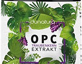 dunatura OPC Traubenkernextrakt hochdosiert - 240 Kapseln beste Qualität & höchster OPC-Gehalt laborgeprüft aus Deutschland